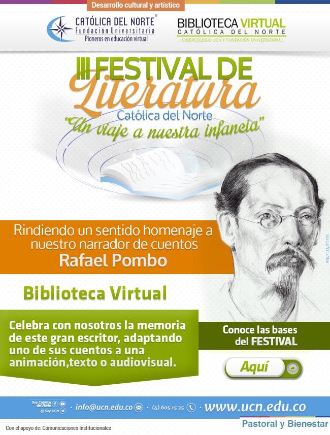 Tercer Festival de Literatura